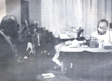 A.C. Bhaktivedanta Swami & Allen Ginsberg:  A Conversation  Recorded by Guru Dasa Adhikari