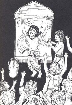 Prahlad Maharaj with Sakha