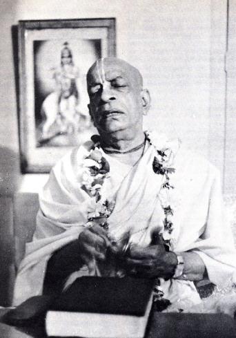 Srila Prabhupada at New Vrindaban