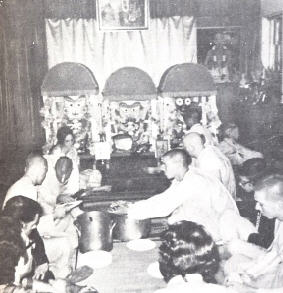 Devotees Offering Bhoga To Lord Jagannath