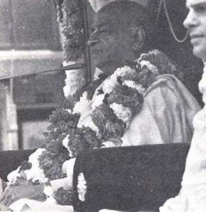 Srila Prabhupada in Rathayatra Parade San Francisco