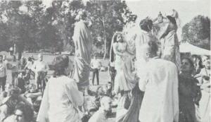 Sankirtan and Puppet Show