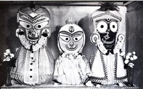 Deties of Jagannath, Baladeva, Subhadra