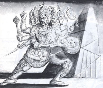 King Ravana And The Staircase To Heaven