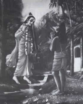Vyasa Dev And Naradamuni