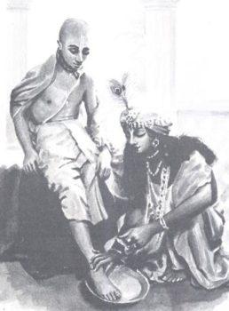 Krsna and Sudama