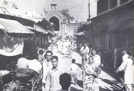 Streets of Vrindavana