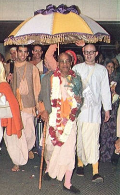 The Arrival of a Pure Devotee  by Vishakha Devi Dasi