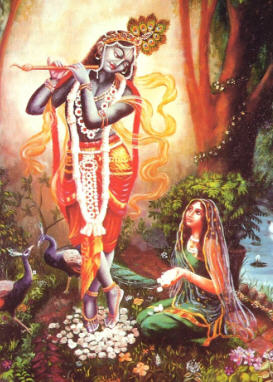 Who is that Girl with Krsna?  by Jayadvaita dasa
