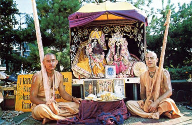 Traveling and Preaching with Radha Damodar  by Visnujana Swami, Tamala Krsna Goswami