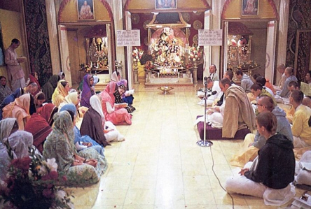 Morning Philosophical Class at ISKCON Los Angeles Temple
