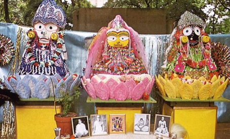 Lord Jagannath Baldeva and Subhadra Devi