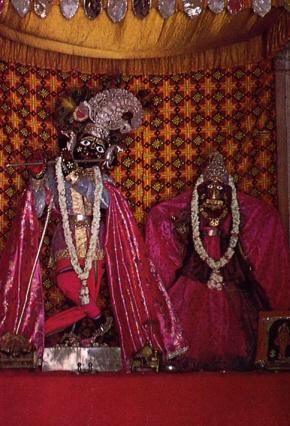 Black Marble Deity Of Lord Sri Krsna Established 400 Yrs Ago by Syamananda Goswami
