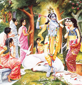 The Gopis Enchanted by the Flute by His Divine Grace A. C Bhaktivedanta Swami Prabhupada
