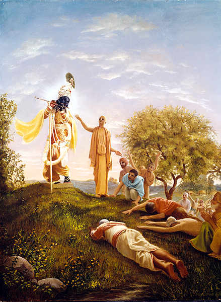 The Deity Who Was Called as a Witness by His Divine Grace A.C. Bhaktivedanta Swami Prabhupada