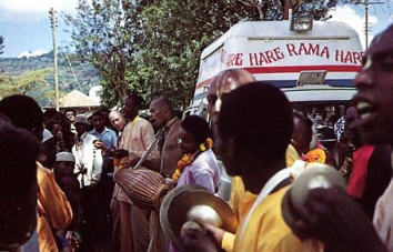 How the Hare Krsna Movement Came to Africa