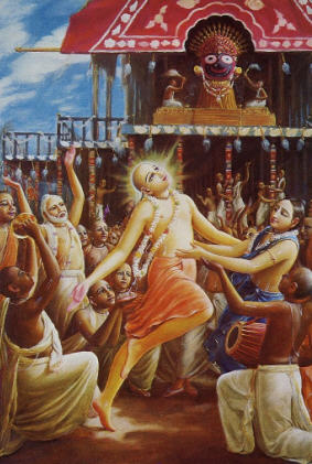 Lord Caitanya and the Devotees
