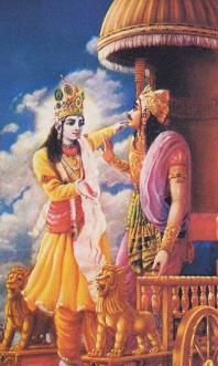 Krishna Appealed Arjuna