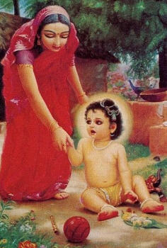 Lord Caitanya – The Joy of Mother Saci