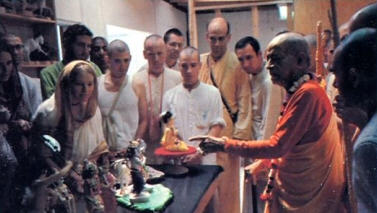 Srila Prabhupada Visited The F.A.T.E Studios