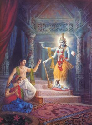 Lord Krsna Comes to Earth