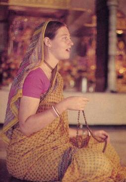 Chanting Hare Krsna Mantra