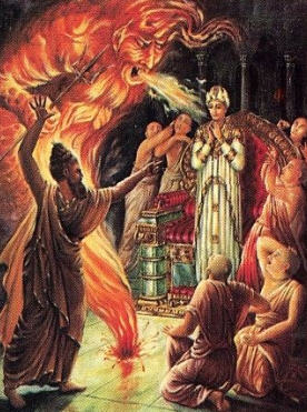 The Yogi Conjured up a Demon To Kill The King