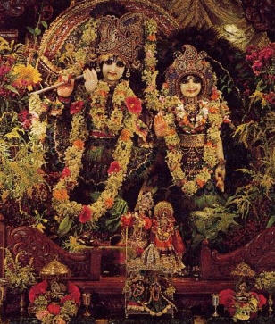 Deities Of Radha Krsna