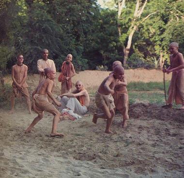Gurukul Student play The Kabbadi