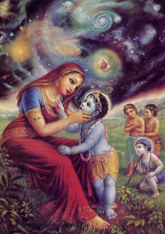 Displaying the Universal Form by Drutakarma Dasa