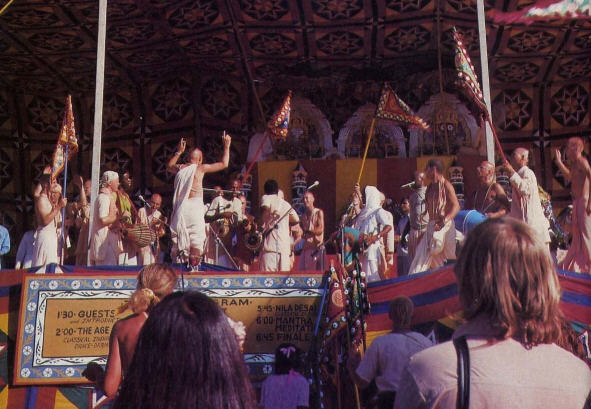 Krsna Kirtan In The Festival Of Chariots