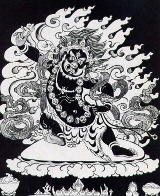 Deity of Kalika Devi