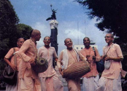 The Krsna Culture Comes to Latin America  by Radha-Krsna Swami
