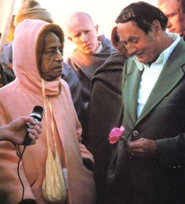 Srila Prabhupada With Dr. Jesus Christ
