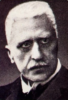 Theologian Rudolf Otto (1869-1937). The Author of The Idea Of The Holy