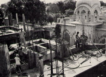 The Memorial Shrine For Srila Prabhupada in Vrndavana