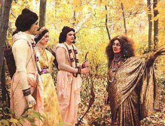 Ravana's Sister Surpanakha