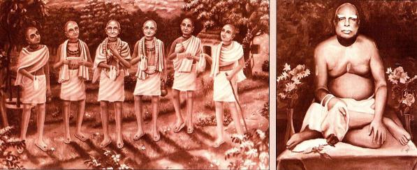 The Six Gosvamis of Vrndavana and Srila Bhaktivinoda Thakura