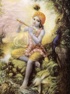 Ascendance to the Personal World of Krsna by His Divine Grace A.C. Bhaktivedanta Swami Prabhupada