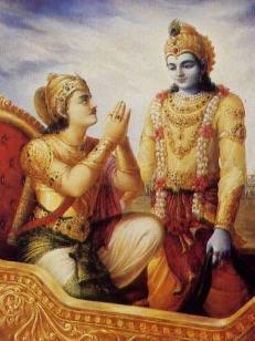 Revelation at Kuruksetra by Dravida Dasa