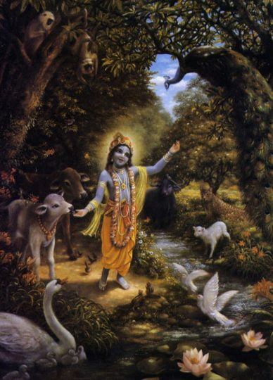With Krsna in the Peaceable Kingdom by Ravindra Svarupa Dasa