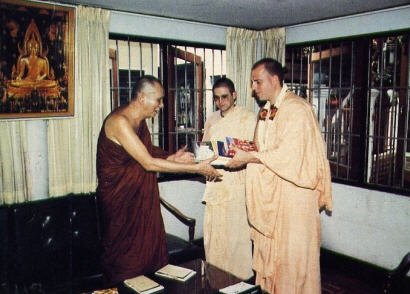 Srila Jayapataka Maharaj in Bangkok