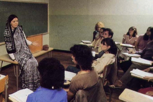 A Religion Class AT Rutgers University in Camden, New Jersey