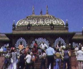 Festivities at Srila Prabhupada's Palace of Gold