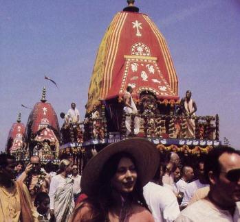 Rathayatra at Venice Beach in Los Angeles