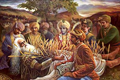 The Passing of Bhisma by Visnu Jvara Dasa