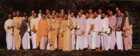 North American Hare Krishna Leaders