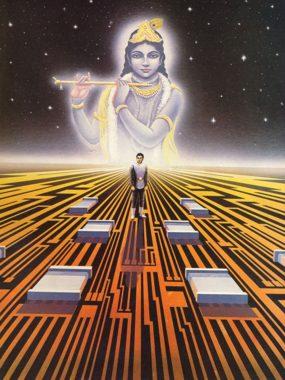 Man/Machine Interface by Visnu Jvara Dasa