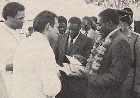 Prime Minister R.C.Mugabe
