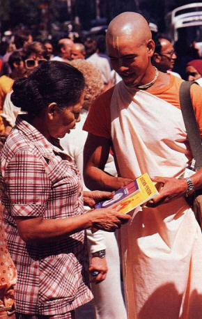 Why We Distribute Books by Seva Devi Dasi